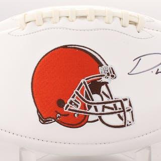 Denzel Ward Signed Browns Logo Football (JSA COA) – Current sales –  Barnebys.com 43bdb7ccd