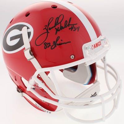 Herschel Walker Signed Georgia Bulldogs Full-Size Helmet Inscribed