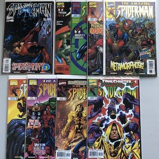 Lot of (10) 1998 Amazing Spider-Man 1st Series Marvel Comic Books