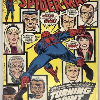 1973 The Amazing Spider-Man #121 1st Series Marvel Comic Book