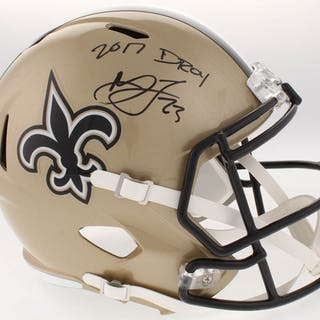 4813635a7b7 Marshon Lattimore Signed New Orleans Saints Full-Size Speed Helmet –  Current sales – Barnebys.com