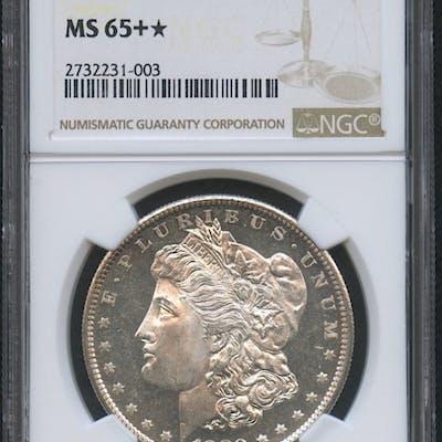 1880-S $1 Morgan Silver Dollar (NGC MS 65+*)