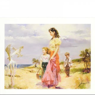 """Pino Signed """"Birds of Paradise"""" Limited Edition 15x20 Giclee"""