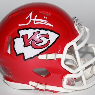 01dc4edf2f0 Tyreek Hill Signed Kansas City Chiefs Speed Mini Helmet (JSA COA) – Current  sales – Barnebys.com