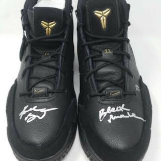 Kobe Bryant Signed Pair of (2) LE Nike Mamba Day Edition Kobe 1 Protro