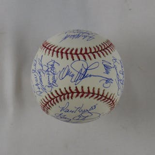 3306a9ed02d7 1986 Mets OML Baseball Team-Signed by (32) with Davey Johnson