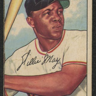 1952 Bowman 218 Willie Mays Current Sales Barnebyscom