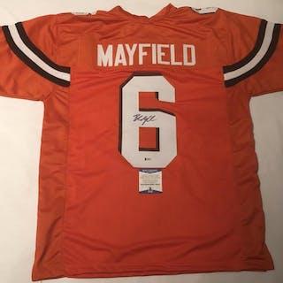 d136e45e5 Baker Mayfield Signed Cleveland Browns Jersey (Beckett COA) – Current sales  – Barnebys.com
