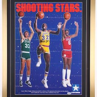 Magic Johnson Signed Original Converse Ad 22x28 Custom Framed Poster –  Current sales – Barnebys.com ccab71b98