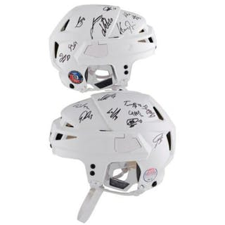 Washington Capitals LE CCM Game Model Helmet Team-Signed By (24) With