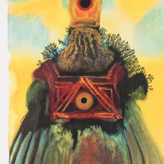 "Salvador Dali LE ""Vol. 2 The Biblia Sacra: The Ark Of The Covenant"