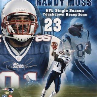 33cfd3976cd Randy Moss Signed New England Patriots 16x20 Photo (Your Sports Memorabilia  – Current sales – Barnebys.com