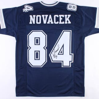 brand new 2b8b4 d21bf Jay Novacek Signed Dallas Cowboys Jersey (JSA Hologram ...