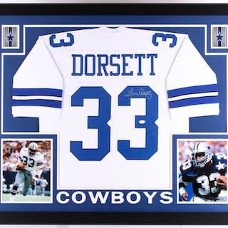 Tony Dorsett Signed Dallas Cowboys 35x43 Custom Framed Jersey (JSA COA) –  Current sales – Barnebys.com b2cb5d000