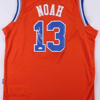 b7a56a6ea7e0 Joakim Noah Signed New York Knicks Jersey (JSA COA) – Current sales –  Barnebys.com