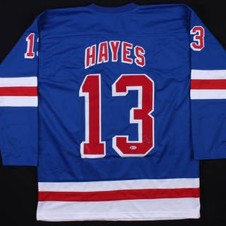 sale retailer 6d1c6 60ff2 Kevin Hayes Signed New York Rangers Jersey (Beckett COA ...