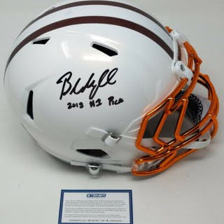 b4c40c4b71b 沒多長時間了! Baker Mayfield Signed LE Cleveland Browns ...