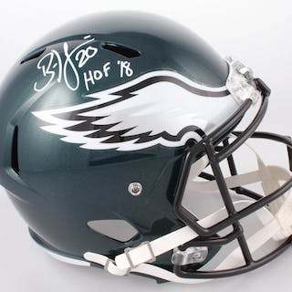 8325ab915e1 Brian Dawkins Signed Philadelphia Eagles Full-Size Speed Helmet Inscribed –  Current sales – Barnebys.com