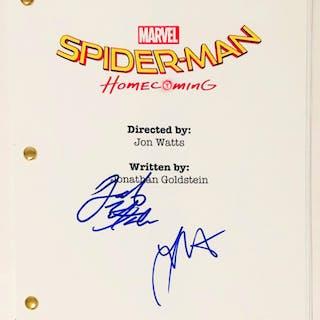 "Jacob Batalon & Laura Harrier Signed ""Spider-Man: Homecoming"" Full"