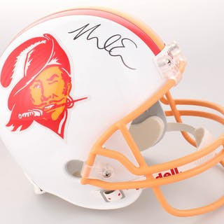 86e922a23c2 Short time left! Mike Evans Signed Tampa Bay Buccaneers Full-Size Throwback  Helmet