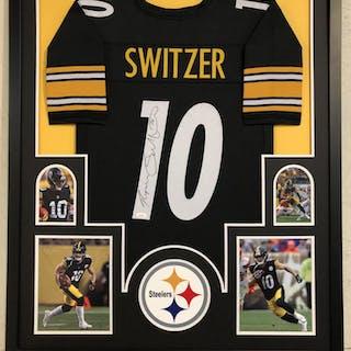 3ed62162 Ryan Switzer Signed Pittsburgh Steelers 34x42 Custom Framed Jersey (JSA COA)