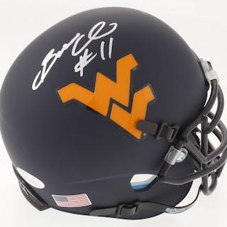 Bruce Irvin Signed West Virginia Mountaineers Custom Matte