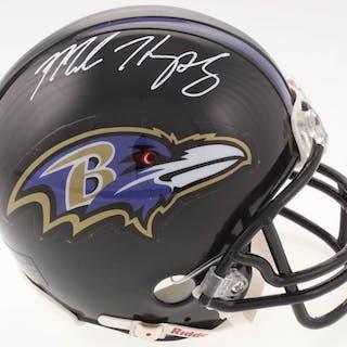 Marlon Humphrey Signed Baltimore Ravens Mini Helmet (SGC COA)