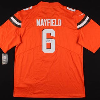 bc5a2d191 Baker Mayfield Signed Cleveland Browns Nike Jersey (PSA COA) – Current sales  – Barnebys.com