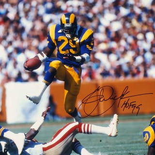 f440b6e91c3 ... Eric Dickerson Signed Los Angeles Rams 16x20 Photo Inscribed