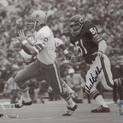 promo code 716d3 90678 Dick Butkus Signed Chicago Bears 8x10 Photo (Fanatics ...