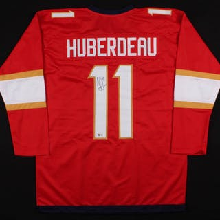 los angeles 6c4fa 6eaf2 Jonathan Huberdeau Signed Florida Panthers Jersey (Beckett ...