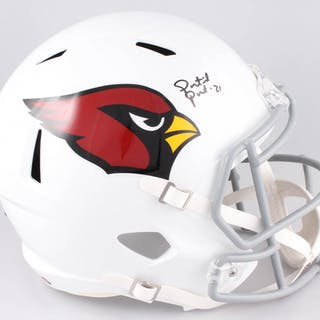 Patrick Peterson Signed Arizona Cardinals Full-Size Speed Helmet (Radtke COA)