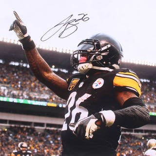 2720fcd4aea Le'Veon Bell Signed Pittsburgh Steelers 16x20 Photo (JSA COA) – Current  sales – Barnebys.com