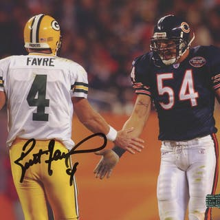 Brett Favre Signed Green Bay Packers 8x10 Photo (Radtke COA)