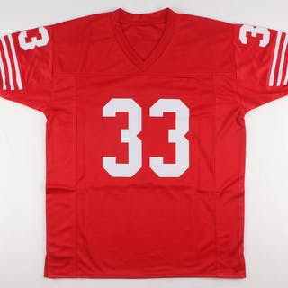 1aecf67bf52 Roger Craig Signed San Francisco 49ers Jersey Inscribed