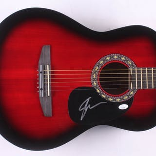 "Shawn Mendes Signed 38"" Rogue Acoustic Guitar (JSA COA)"