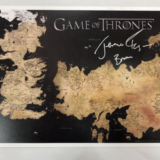 "Jerome Flynn Signed ""Game of Thrones"" 11x17 Photo Inscribed ""Bronn"""