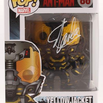"Stan Lee Signed ""Yellow Jacket"" #86 Funko Pop Vinyl Figure (Radtke"