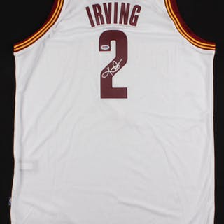 b422ba49470ed Kyrie Irving Signed Cleveland Cavaliers Jersey (PSA COA) – Current sales –  Barnebys.com