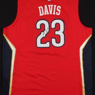 c6079d19dbf Anthony Davis Signed New Orleans Pelicans Jersey (JSA COA) – Current sales  – Barnebys.com