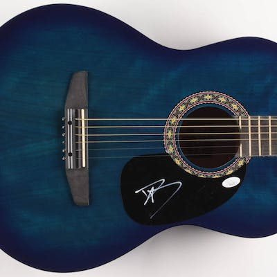 """Dave Grohl Signed 38"""" Rogue Acoustic Guitar (JSA COA)"""