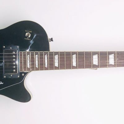 Les Paul Signed Glen Burton Gold Electric Guitar (JSA COA)