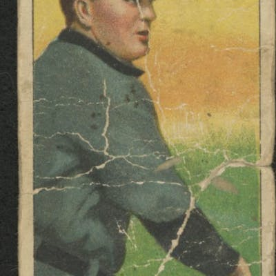 1909-11 T206 #524 Cy Young / Bare Hand Shows