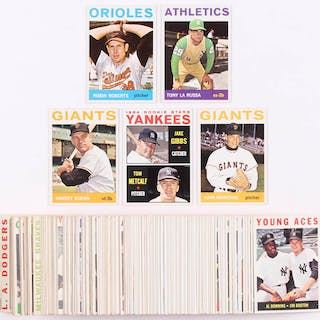 Lot Of 125 1964 Topps Baseball Cards With 285 Robin