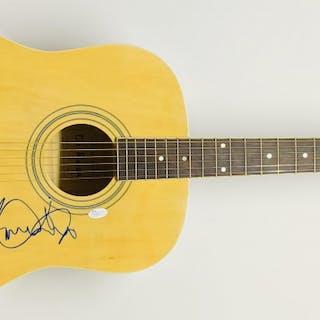 "Roger Daltrey Signed ""The Who"" Full-Size Acoustic Guitar (JSA COA)"