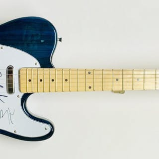 """The Doors"" Multi-Signed Electric Guitar with (3) Signatures Including"
