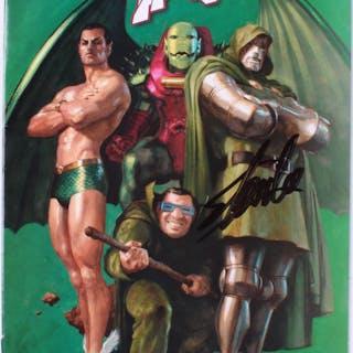 "Stan Lee Signed 2011 ""X-Men: Legacy"" Variant Issue #245 Marvel Comic"