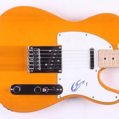 "Chuck Berry Signed 39"" Electric Guitar (JSA LOA)"