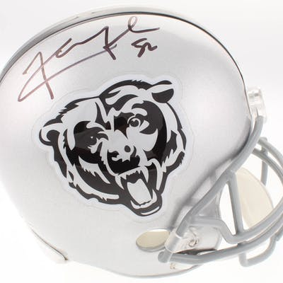 sports shoes ecc2b 1d0fa Khalil Mack Signed Chicago Bears Full-Size Helmet (JSA ...