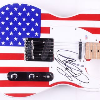"Bruce Springsteen Signed Huntington 39"" Electric Guitar (PSA LOA)"